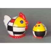 figurine menagerie geometrique poules meg06