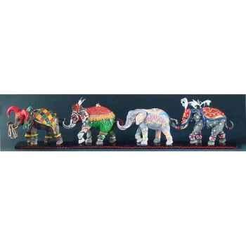 Figurine eléphant - carnevale  - tu13073