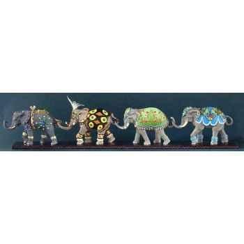 Figurine eléphant - jewel  - tu13076