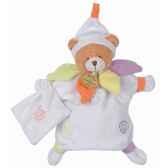 doudou et compagnie doudou ours nuage de couleurs dc1061