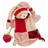 doudou et compagnie doudou ours avec fraise 1492
