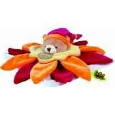 doudou et compagnie doudou collector fleur orange 228