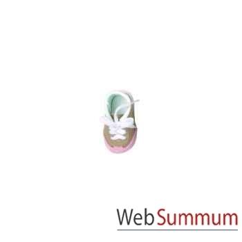 Poupée elea / sophie chaussures de sport rose/beiges-41295 Käthe Kruse