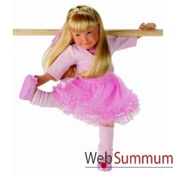 Poupée lolle pirouette vêtements avec ballet slippers-54614 Käthe Kruse