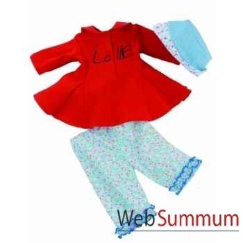 Poupée lolle vêtments leisure-54810 Käthe Kruse