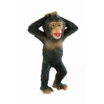 Figurine bullyland chimpanzé bébé -b63564