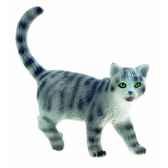 figurine bullyland chat british bleu b66363
