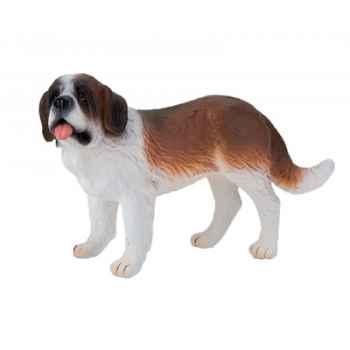 Figurine bullyland chien saint bernard -b65433