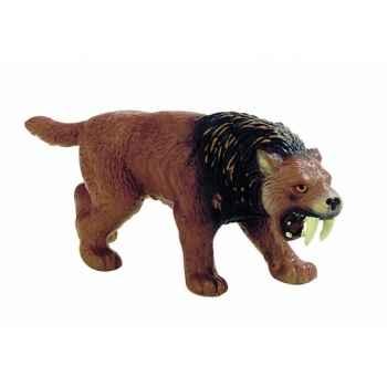Figurine bullyland tigre de la préhistoire -b58372