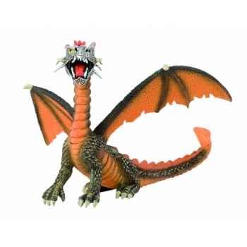 Figurine bullyland dragon orange -b75595