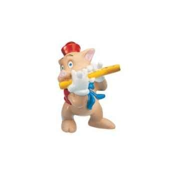 Figurine bullyland petit cochon flute -b12490