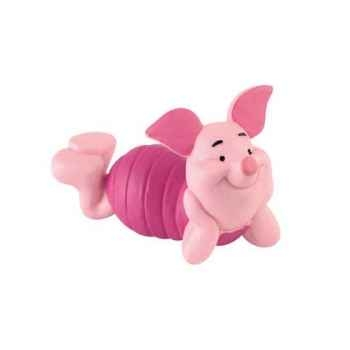 Figurine bullyland porcinet couché -b12344