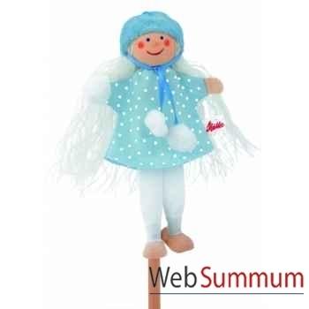 Marionnette käthe kruse enfant d\'hiver -60654