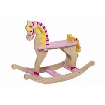 Cheval à bascule princesse toys pure -53936 Jouets Web-Summum