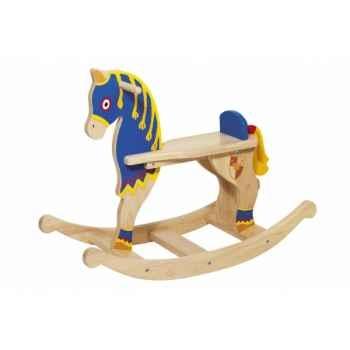 Cheval à bascule chevalier toys pure -53935 Jouets Web-Summum