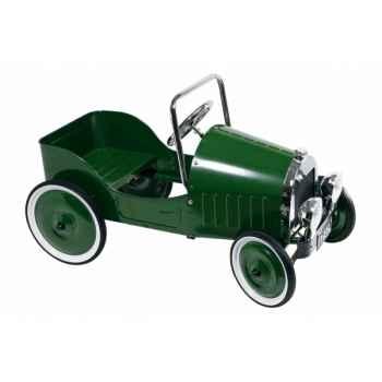 Voiture à pédales vert (1939) toys pure -14073 Jouets Web-Summum