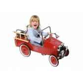 voiture a pedales pompiers rouge toys pure 14069 jouets web summum