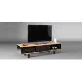 meuble audio video en bambou massif norstone cinema