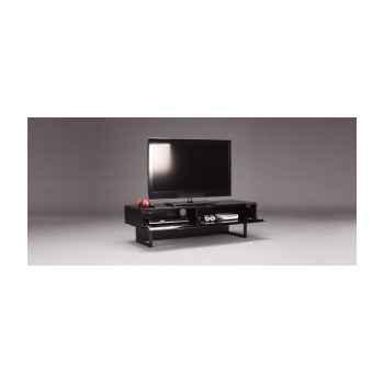 Meuble audio vidéo avec porte norstone -lunde