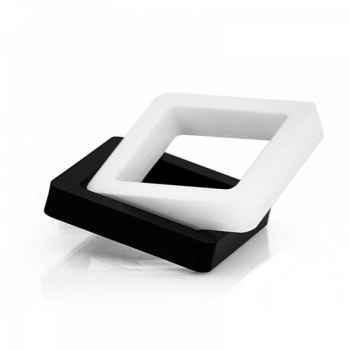 Bijou bracelet blanc acrila -bbb