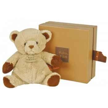 Peluche ours chocolat au lait histoire d\'ours -2059