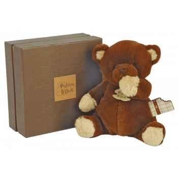 Peluche ours chocolat noir histoire d\'ours -2060