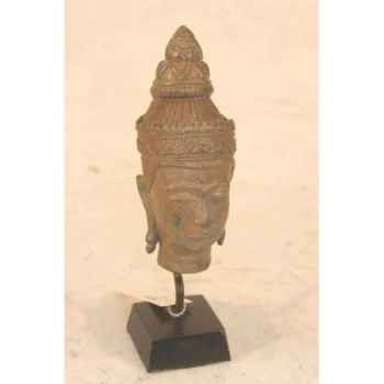 Art asiatique buddha head pagoda -rb714rp
