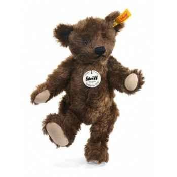 Peluche steiff ours teddy classique 1920, brun foncé -000805