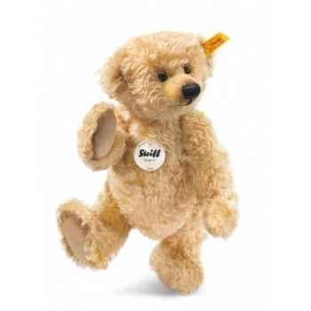 Peluche steiff ours teddy jona, blond -001079