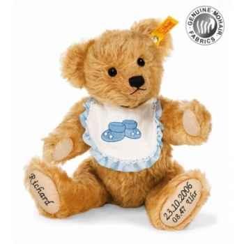 Peluche steiff ours teddy nouveau-né, blond vénitien -002021