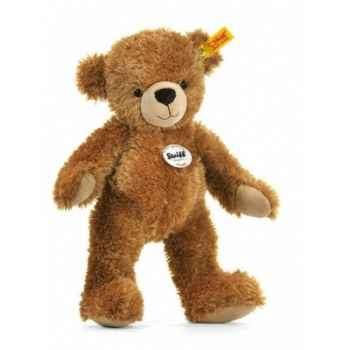 Peluche steiff ours teddy happy, brun clair -012617