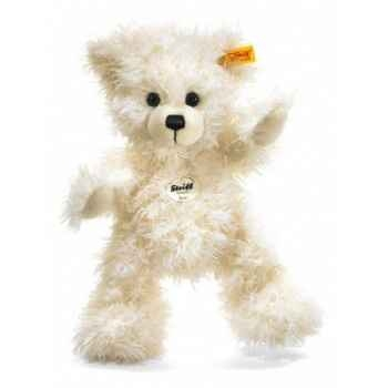 Peluche steiff ours teddy-pantin lizzy, blanc -012716