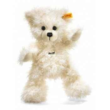 Peluche steiff ours teddy-pantin lizzy, blanc -012723