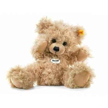 Peluche steiff ours teddy-pantin lars, beige -012747