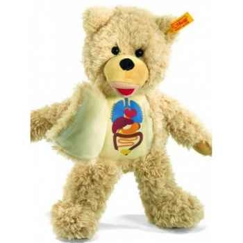 Peluche steiff ours teddy medi, blond -012761
