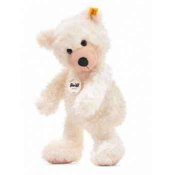Peluche steiff ours teddy-pantin flora, abricot -012785