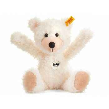 Peluche steiff ours teddy-pantin flora, abricot -012792