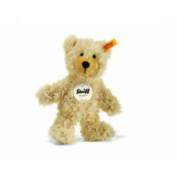 Peluche steiff ours teddy-pantin charly, beige -012808