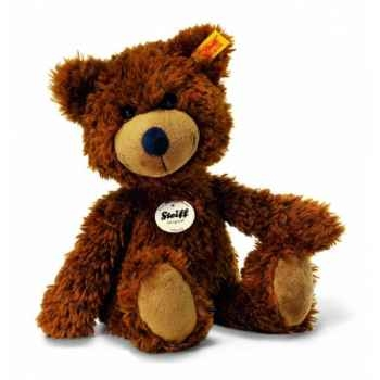 Peluche steiff ours teddy-pantin charly, brun -012846