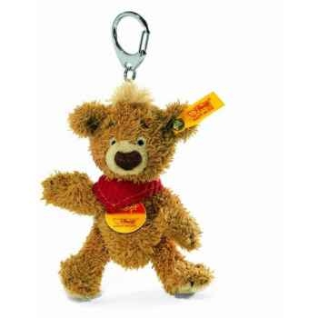 Peluche steiff porte-clés ours teddy knopf, brun doré -014475
