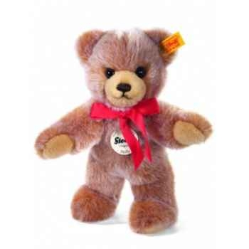 Peluche steiff ours teddy molly, brun chiné -019593