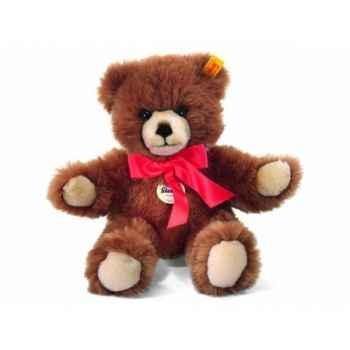 Peluche steiff ours teddy molly, châtaigne -019685
