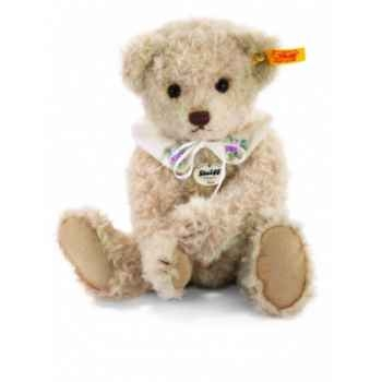 Peluche steiff ours teddy classique sissi, beige clair -027598