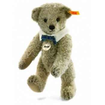 Peluche steiff ours teddy classique leo, blond cendré -027611