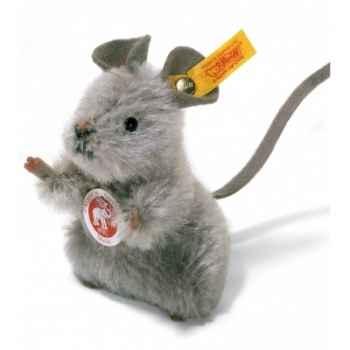Peluche steiff souris mimic, gris -032141
