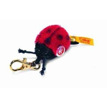 Peluche steiff porte-clés coccinelle summy, rouge -032820
