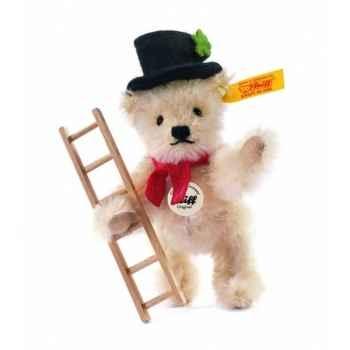 Peluche steiff ours teddy ramoneur, blond -033254