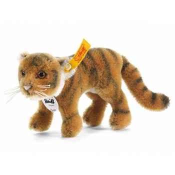 Peluche steiff tigre radjah, blond rayé -033346