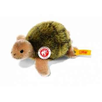 Peluche steiff tortue trotty, olive/beige -035593