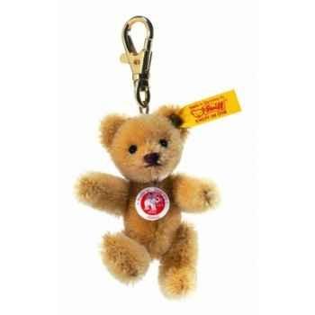 Peluche steiff porte-clés ours teddy mini, blond comme les blés -039089